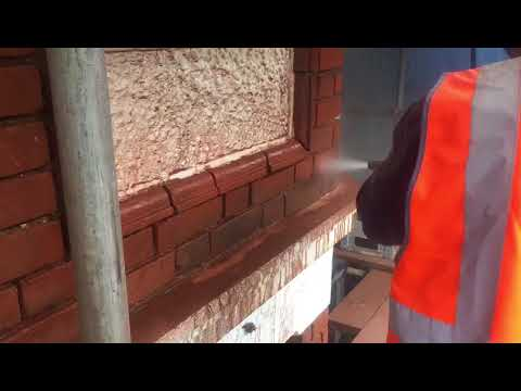 Brick cleaning London - soft blasting by S.J. Pointer