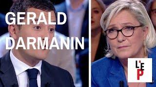 L'Emission politique avec Marine Le Pen – débat avec Gérald Darmanin - le 19 octobre 2017 (France 2)