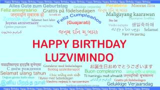 Luzvimindo   Languages Idiomas - Happy Birthday