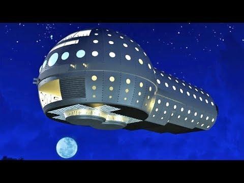 Новое! НЛО в небе Москвы - съемка очевидца 2018 HD (UFO)