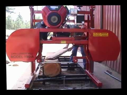 Linn Lumber 2012 Sawmill Demo Video