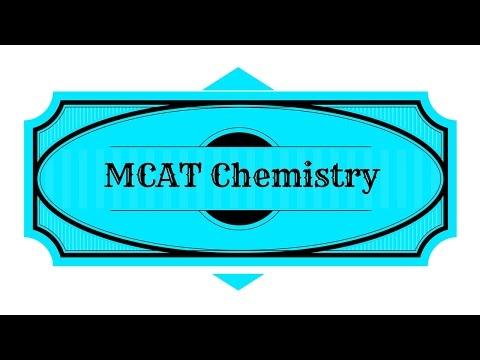 MCAT Chemistry Study Guide