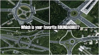 My Best 5 Roundabouts Which is your favorite Roundabout?