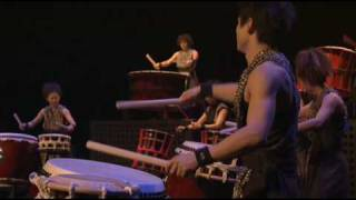 japan drummers; concert in Germany.