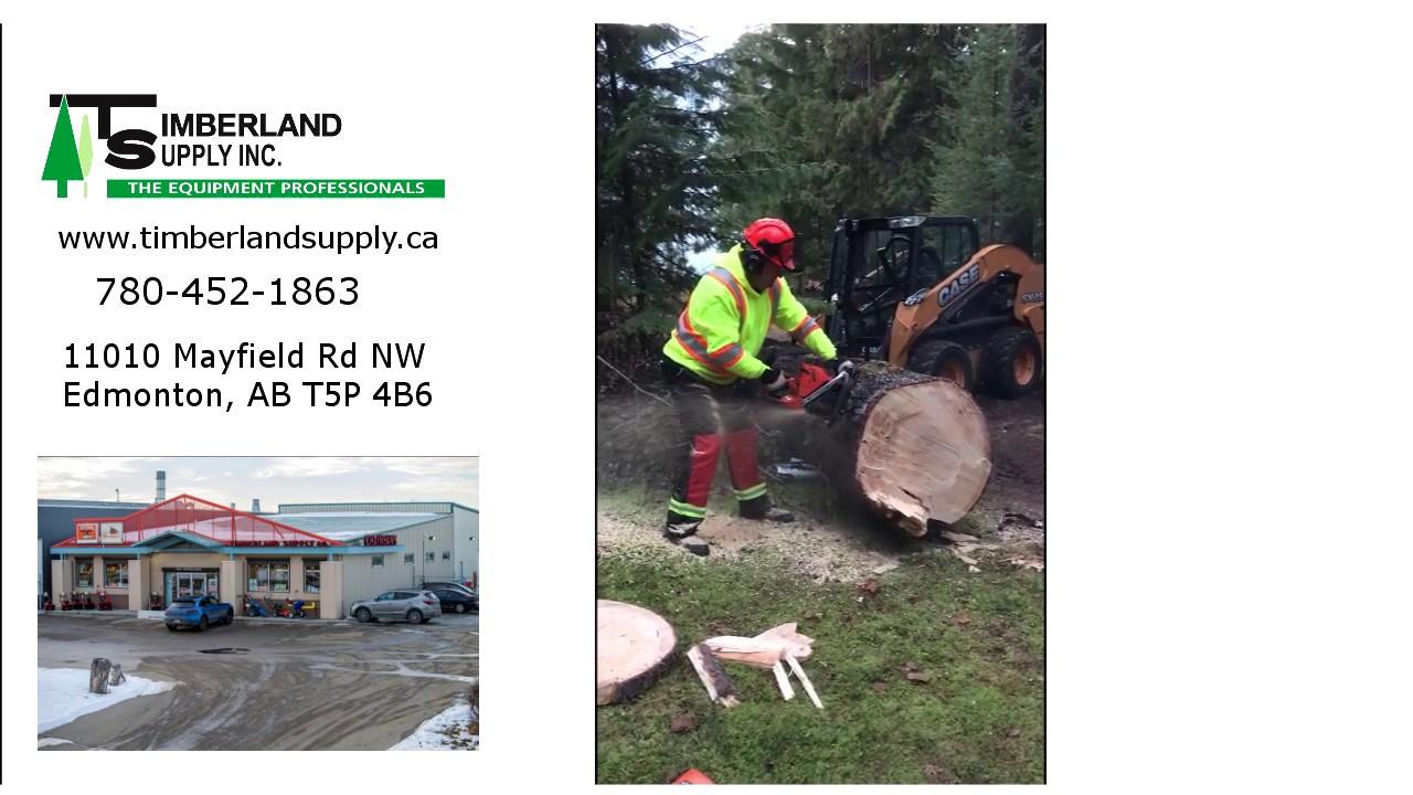 Husqvarna Dealer for Edmonton Alberta -- Timberland Supply Inc