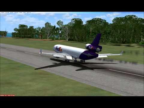 Emergency Landing Midway Island