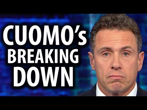 CNN's Chris Cuomo Breaks Down Over Godfather Insult