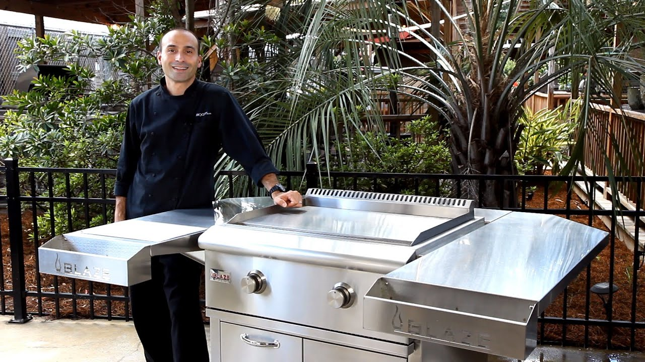 blaze gas griddle review | 304 stainless steel outdoor griddle
