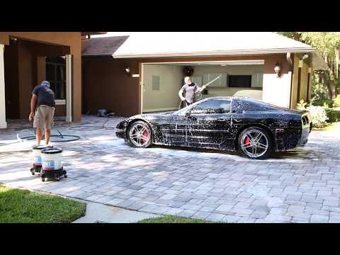 C5 Corvette 2 Step Paint Correction Video 1 of 3