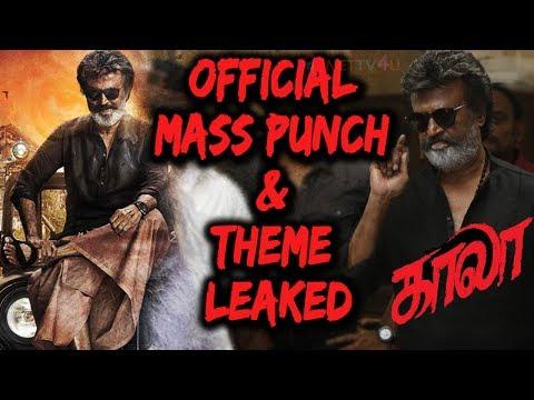 Rajinikanth's Kaala Movie Official Mass...