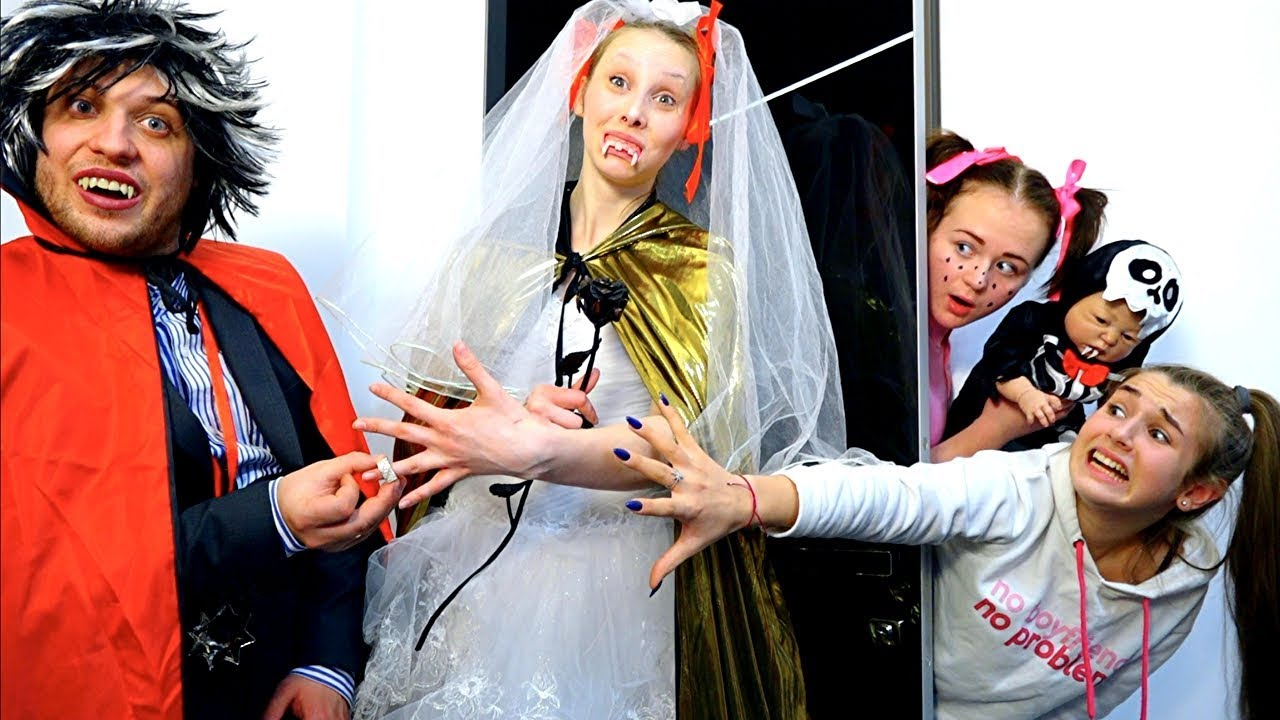 Свадьба ВАМПИРОВ! Тили тили тесто жених и невеста  // Леди Диана