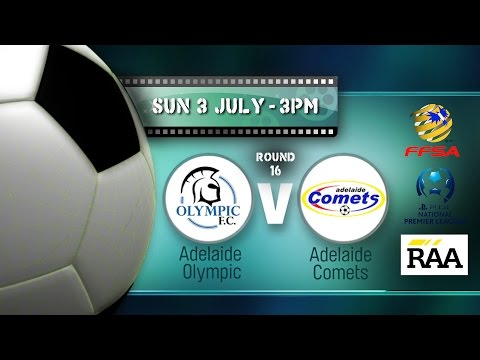 Round 16 Adelaide Olympic versus Adelaide Comets