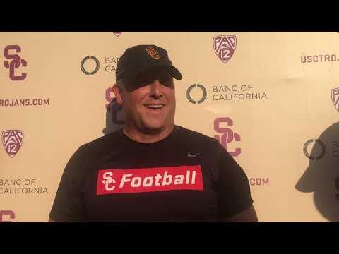 USC Football - 2018 Fall Camp #9: Clay Helton