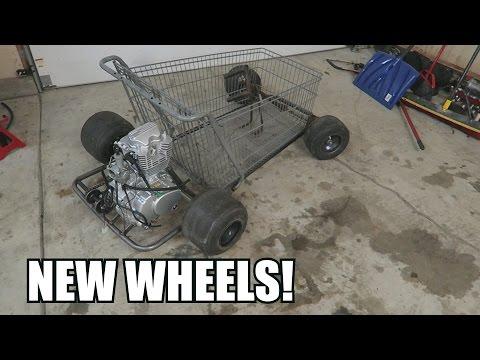 Progress on the Shopping Go Kart