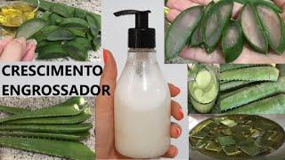 Shampoo de Babosa Caseiro – O Cabelo vai Crescer muito Rápido