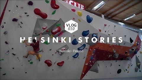 Rawclimbing VLOG 010 - Helsinki Stories - Indoor bouldersession at Boulderkeskus Espoo
