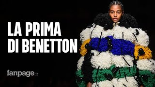 Milano Fashion Week, la prima sfilata di Benetton: