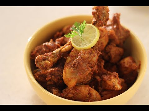 Chicken Sukka | Recipes by Newly Weds | Sanjeev Kapoor Khazana