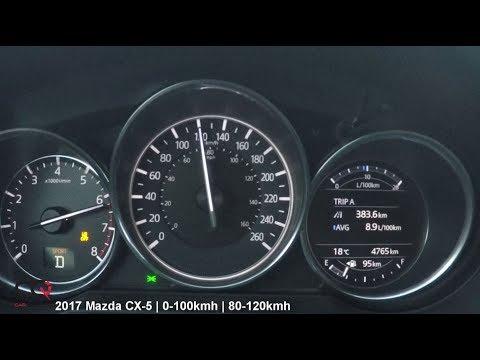 2017 Mazda CX-5 | 0-100kmh / 0-60mph Acceleration Test | Review 3/4