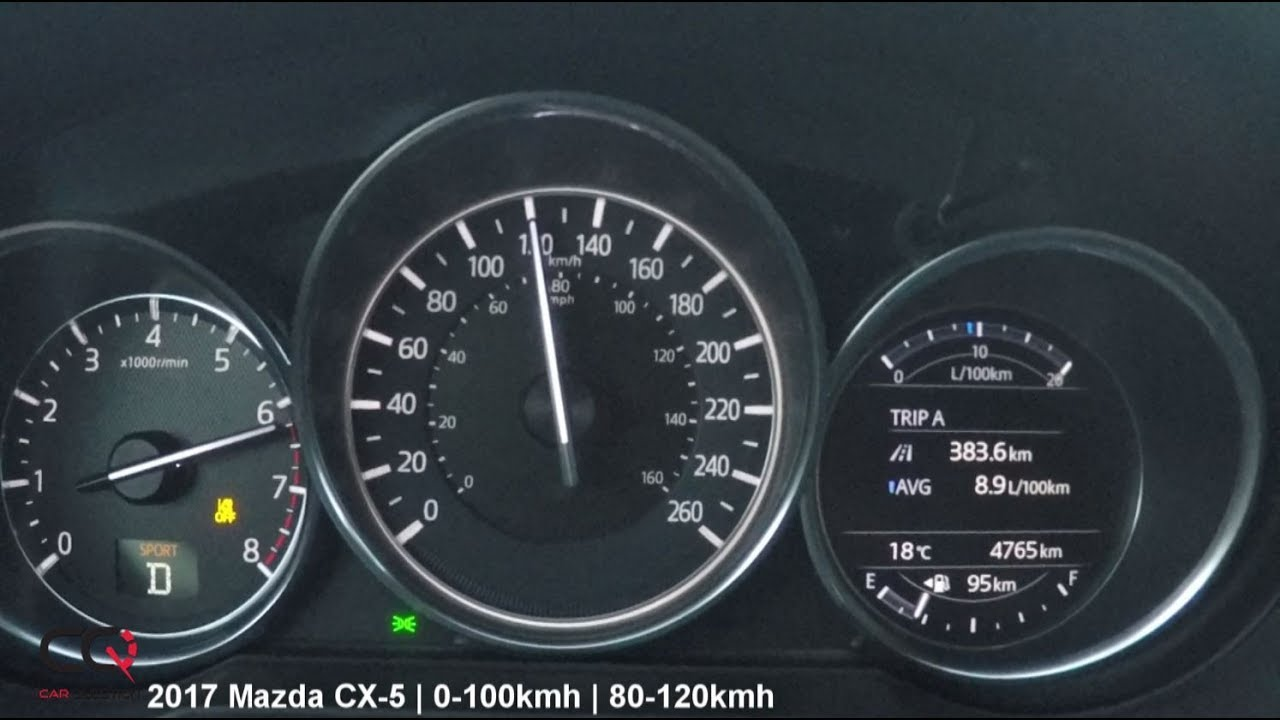 2017 Mazda Cx 5 0 100kmh 0 60mph Acceleration Test Review 3 4