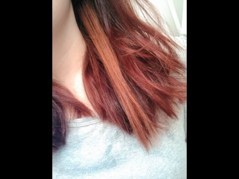 Color Oops on Red hair