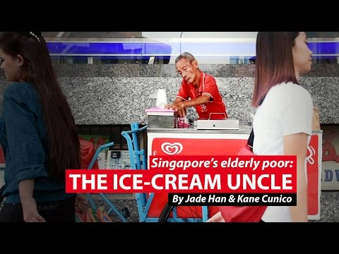 The Ice-cream Uncle | Singapore's Elderly Poor | CNA Insider