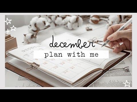 plan with me // december 2019 bullet journal setup