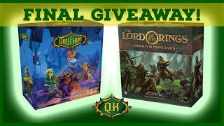 The Lord of The Rings: Journeys in Middle-Earth Giveaway