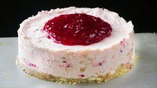 ఈ స్టైల్ లో రాస్ప్బెర్రీ క్రీమ్ చీజ్ చేస్తే అచ్చం బేకరీ టేస్ట్ వస్తుంది | Raspberry Cream CheeseCake