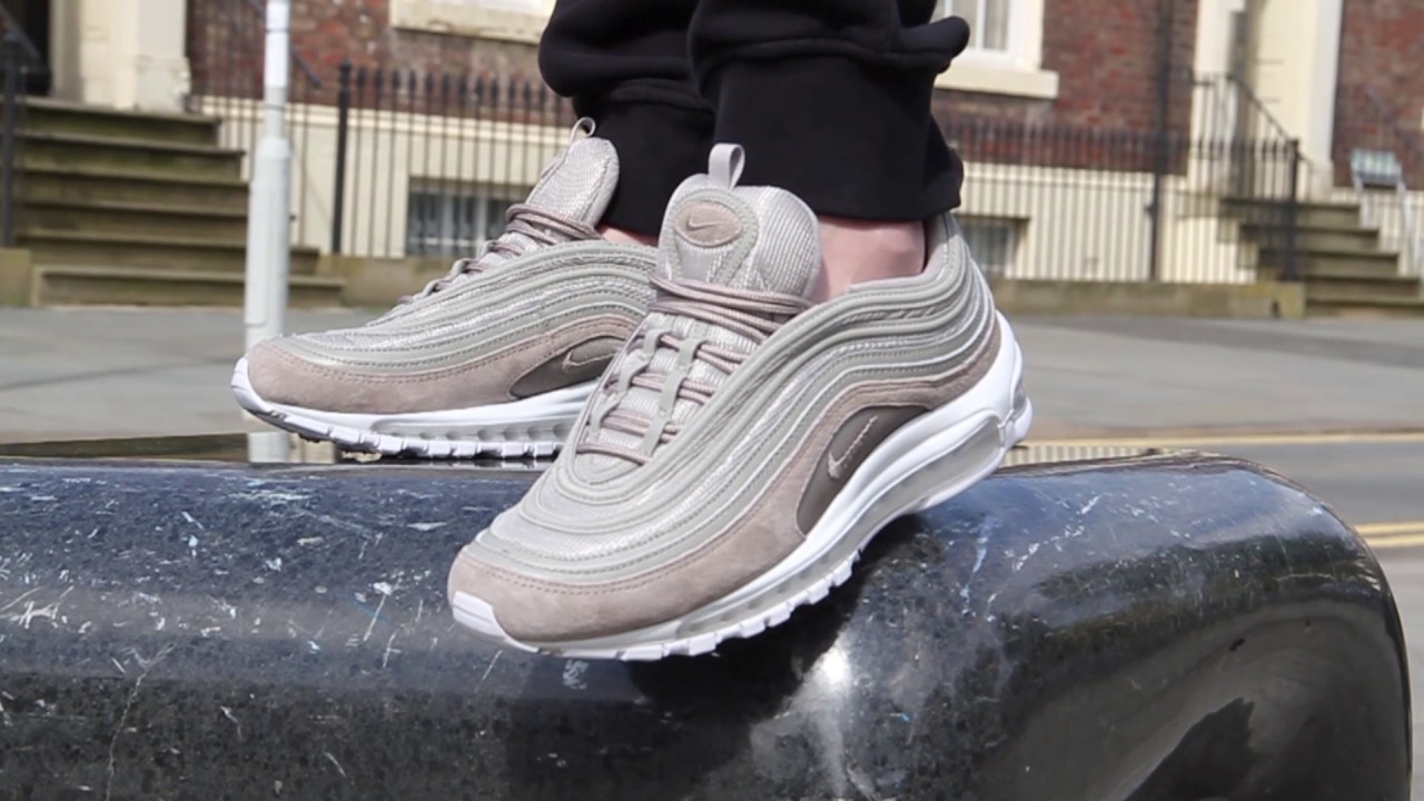 d30ae50abf2 Nike Air Max 97 Cobblestone On Foot Feature - YouTube