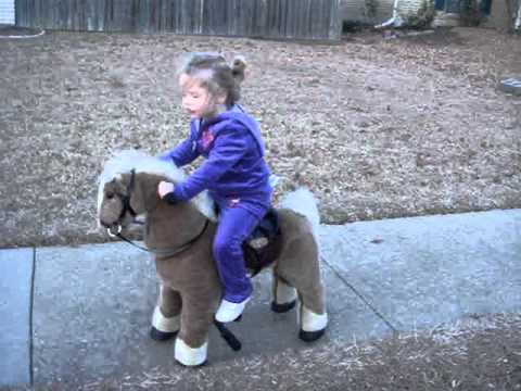 LITTLE TIKES GIDDY UP N GO PONY