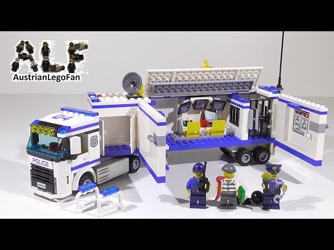 Lego City 60044 Mobile Police Unit / Polizei Überwachung  Truck - Lego Speed Build Review