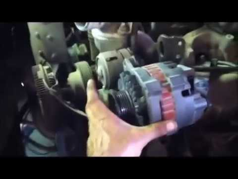 how to change a alternator on a 1995 to 2002 chevy or gmc easy