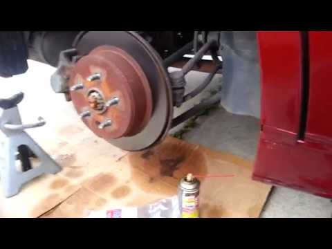 DIY Lexus GS300, iS Rear Brake Pads Replacement