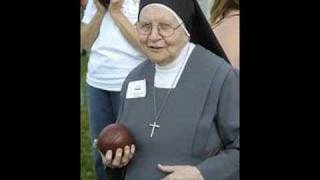 Nuns playing bocce ball
