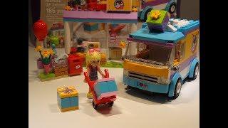 LEGO FRIENDS - Строим лего: Доставка подарков / Building lego: Gift delivery