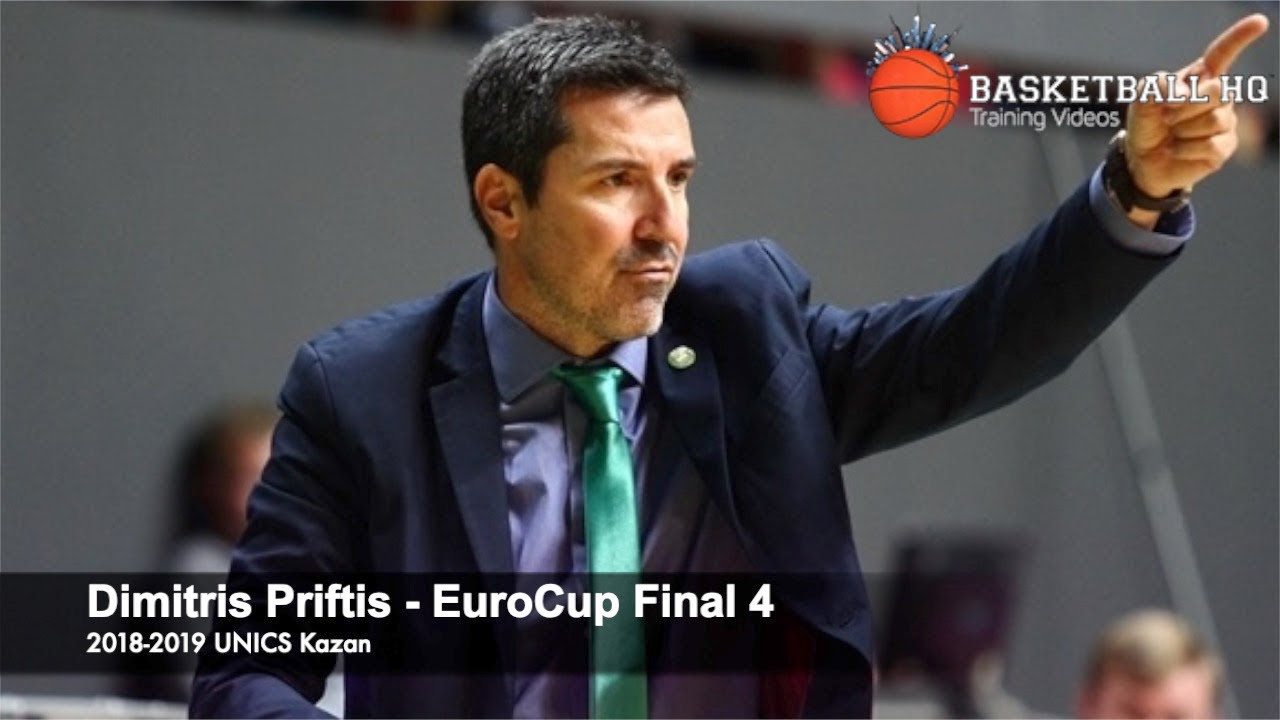 Best Sets & Actions EuroCup Final 4 Dimitris Priftis Kazan