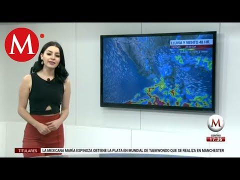 El clima del 17 de mayo, con Sandy Tok