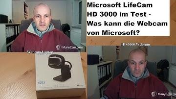 Microsoft LifeCam HD 3000 im Test - Was kann die kleine Webcam? 🤔