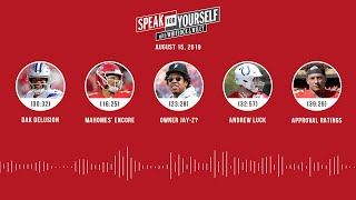 SPEAK FOR YOURSELF Audio Podcast (8.15.19) with Marcellus Wiley, Jason Whitlock | SPEAK FOR YOURSELF
