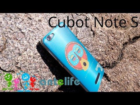 Cubot Note S обзор смартфона