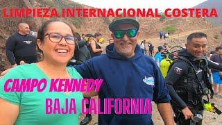 Campo Kennedy | Limpieza Internacional Costera | Ensenada B.C | De Aventuras