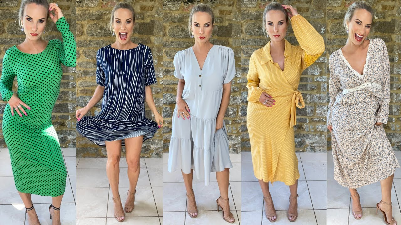 *AMAZING* EVERYTHING5POUNDS E5P HAUL NEW ARRIVALS TRY-ON SUMMER DRESSES BARGAIN CHEAP PLT BRANDS