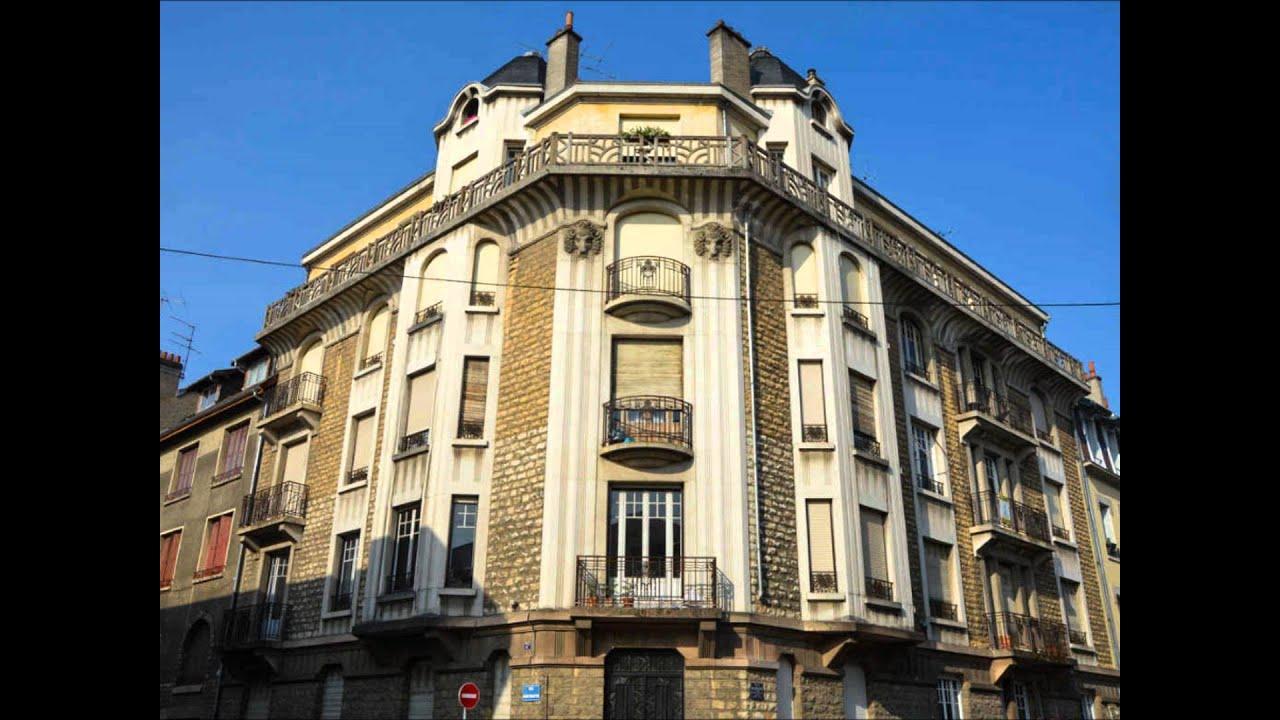 Art d co dijon youtube for Dijon architecture