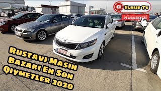Rustavi Masin Bazari Masinlarin  Mart Aprel Qiymetleri 2020 (1080) HD Kanala Abone Olun