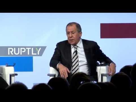 LIVE: Lavrov speaks at MED – Mediterranean Dialogues international conference