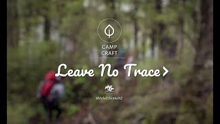 How to Leave No Trace in the Outdoors | Camp Craft Episode 29 | MSC Get Outdoors Series