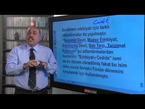 KPSS | ÖABT | Türk Dili ve Edebiyatı | Yeni Türk Edebiyatı-Şahin Şener