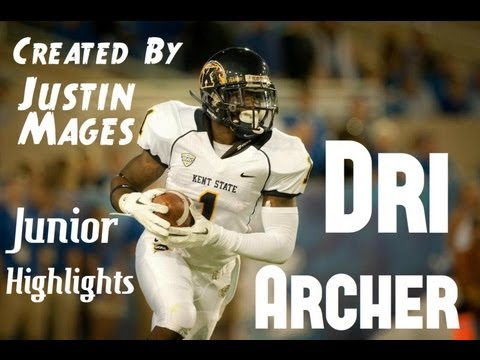 Kent State's 5'8 Dri Archer is the Most Exciting College Football Player. Junior Highlights