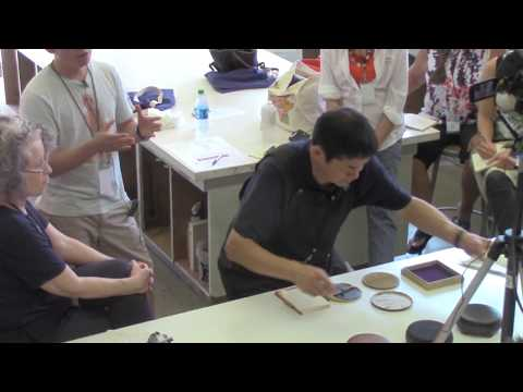 Hidehiko Goto: Baren Making, Care and Printing Demonstration